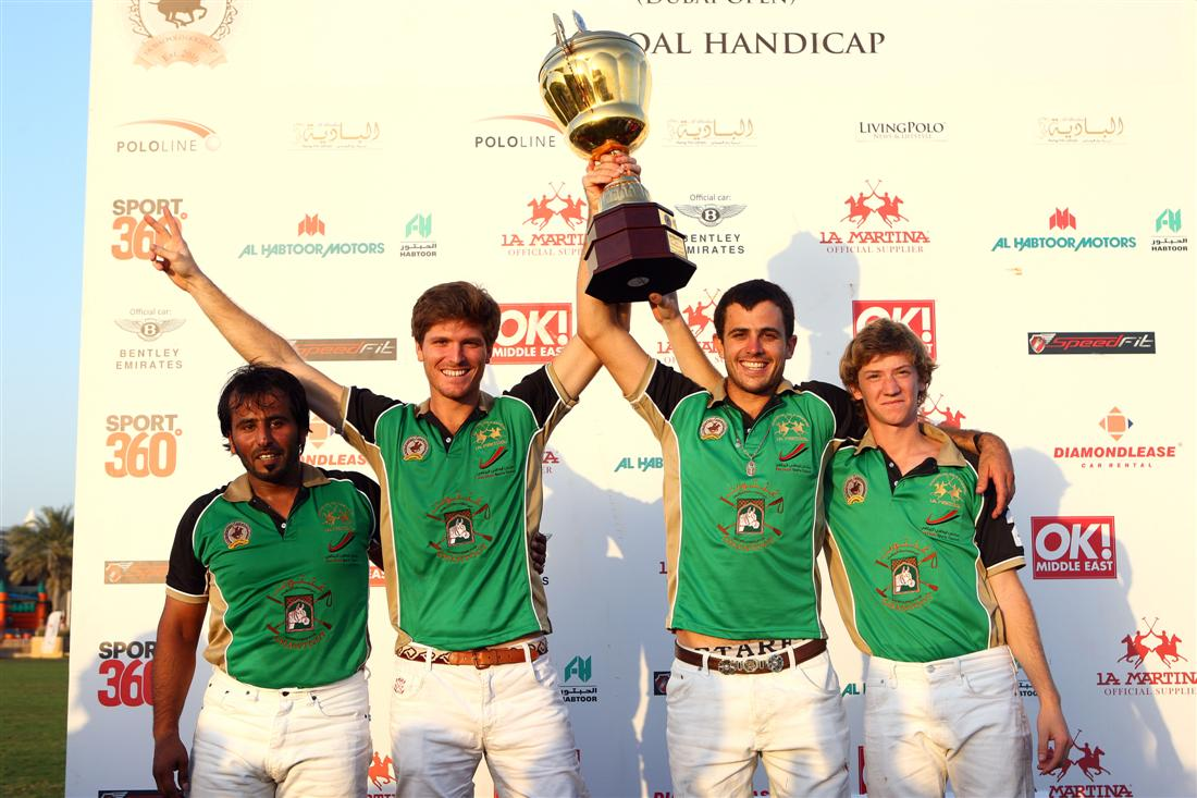 Ghantoot Polo Crowned Gold Cup Champions - 14-6 over Habtoor Polo
